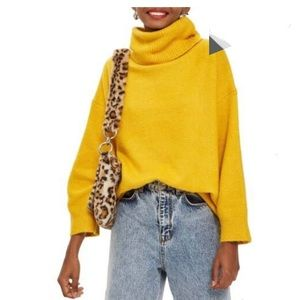 TOPSHOP  oversize turtle neck sweater